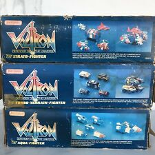 Voltron vehicle force in box aqua - turbo terrain - strato fighter matchbox
