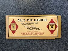 Vintage Dill's Best Tobacco Pipe Cleaners Package 5¢ with Cleaners