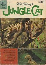 DELL MOVIE CLASSIC WALT DISNEY'S JUNGLE CAT 1960 COMIC BOOK LORD OF THE AMAZON