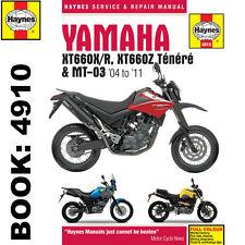 Haynes 4910 Yamaha Xt660 & Mt-03 04 - 11