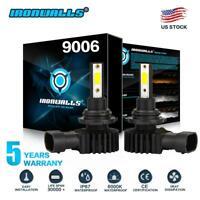 9006 HB4 6000K 22000W 330000LM LED Headlight Conversion Kit High Low Beam Bulb