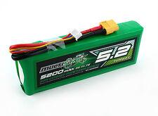 Multistar 5200mAh 3S 11.1v 10C Lipo Battery XT60 XT-60 High Capacity Multi-rotor
