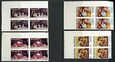 NICARAGUA FAMOUS PAINTINGS  SCOTT#1066/71, C932/33 BLOCKS  IMPERFORATED  MINT NH