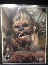 Official Pix Star Wars Chewbacca Peter Mayhew Signed Autographed 8x10 Photo BAS