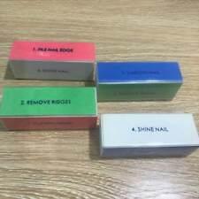 1pc Nail File Sanding Grinding Buffing Sponge Nail Polish Manicure Pedicure Tool