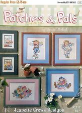 Patches & Pals Cross Stitch Chart/Pattern  Whimsical Scarecrows