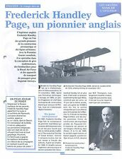 WWI Handley Page Aircraft Company 0/400 Royal Air Force Halifax UK FRANCE FICHE