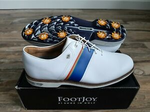 NEW 2021 FootJoy Dryjoys Premiere Pacific Sunset Collection Mens Golf Shoes 13W