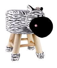 Kids Zebra Face Stool