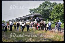 Original Slide - Southern SOU BLUE GRASS LIMITED Passenger Special Scene 1974
