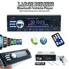 In-Dash Car Bluetooth USB CD FM Stereo Audio Aux Input Receiver MP3 Radio Player
