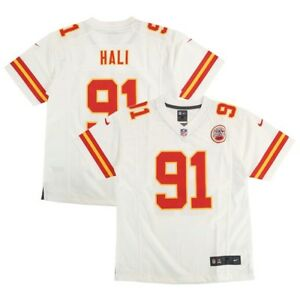 Tamba Hali Kansas City Chiefs NFL Nike Youth White  Game Jersey