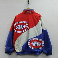 Vintage Montreal Canadiens Shain Insulated Jacket Large 90s NHL Hockey