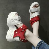 Women's Sport Sandals Gladiators Platform Wedge High Heels Summer Sneakers Shoes