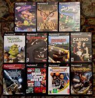 Lot Of 11 Playstation 2 Games (Prince Of Persia, Star Ocean, GunClub, More) PS2