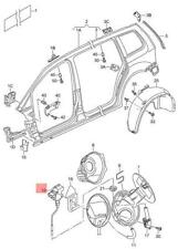 Genuine Throttle Control Element VW Touran 1T0810773B