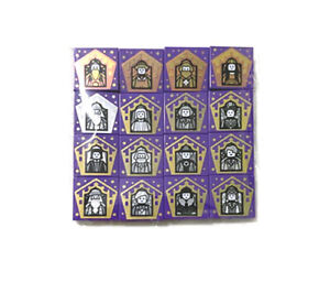 LEGO NEW Harry Potter Collectable Tile (chocolate frog wizard cards) 2021
