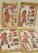 Lot of 4 Lizzie McGuire Simplicity Patterns, Girls clothing and Accessories Cute