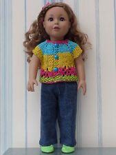 Vêtements pour poupée 46 cm Adora Friend, American Doll + chaussures