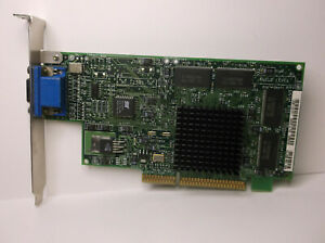 3DLabs Oxygen Vx1 32mb AGP VGA Video Card 50-125B1-02