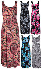 Sleeveless Casual Maxi Dresses Plus Size for Women