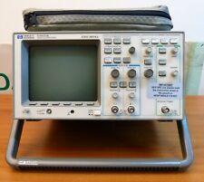 HP 54600B oscilloscopio digitale 100 MHz + 3 sonde. digital oscilloscope