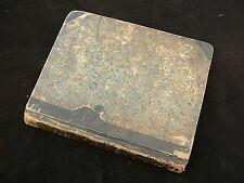 c.1829 Mathematics Manuscript Exercise Book