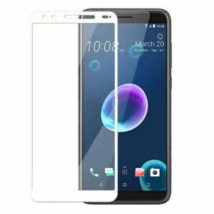 For HTC Desire 12 12 Plus Full Covered Tempered Glass Screen Protector Film Lot