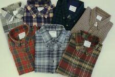 3X verschiedene Oberhemden, Flanelhemden, Unifarben, karriert, Arbeitshemden