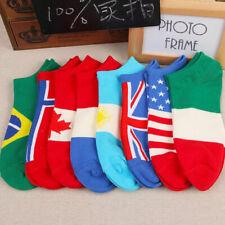1 Pairs Mens Ankle Socks Low Cut Crew Casual Sport Socks Fashion Colors Cot BID