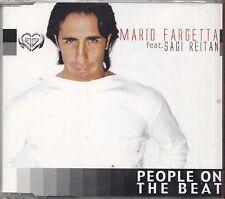 FARGETTA - People on the beat - SAGI REITAN CDs SINGLE 3 TRACKS 2003 USATO