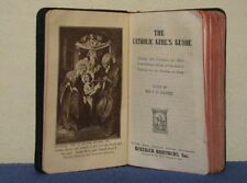 VTG 1946 PRE-VATICAN II THE CATHOLIC GIRL'S GUIDE LASANCE LAT/ENG BENZIGER BROS