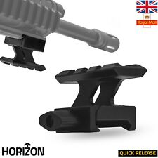 HORIZON Scope Riser Rail Mount Adapter 30mm Flat Top 20mm Picatinny Weaver Rail