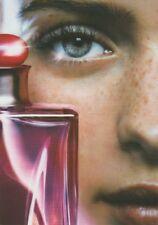 Carte  publicitaire- advertising card - Gloria  Cacharel  (format carte postale)