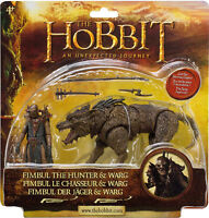The Hobbit Beast Pack Fimbul and Warg