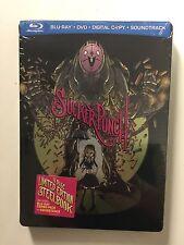 Sucker Punch (Blu-ray/DVD, CD, 2011) NEW Comic Con Steelbook