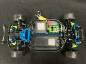 Duratrax Vendetta 1/18 Scale with HPI RS4 Wheels