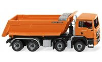 #067448 - Wiking Muldenkipper (MAN TGS Euro 6 /Meiller) - orange - 1:87