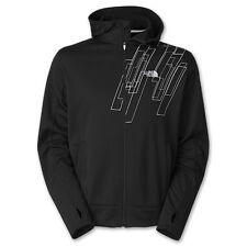 The North Face Surgent Printed Full-Zip Hoodie Black/Highrise Grey Men's 2XL