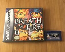 Breath of Fire w/ New Custom Case - Nintendo Game Boy Advance GBA - USA