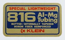 KLEIN Team Super Special Lightweight 816 Tubing Decal ~ Al-Mg Tubing Decal