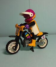 Playmobil racing ~ crossmotorrad/crossmotor (3044)