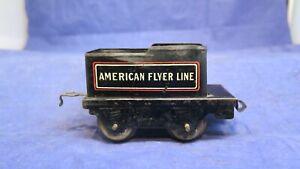 American Flyer Prewar O Gauge No. 120  Tender For Steam Locomotive! CT