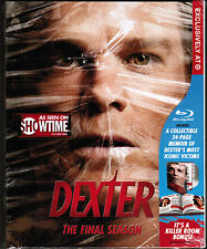 Showtime's DEXTER: Final Season [TARGET-EXCL. BLU-RAY SET, 2014] NEW! Digibook