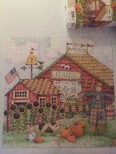Debbie Mumm - Praire Days - 550 piece Jigsaw Puzzle. Complete.  Folk Rustic