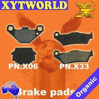 FRONT REAR Brake Pads APRILIA SX 125 2008 2009 2010 2011 2012 2013