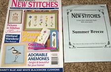 Mary Hickmott's New Stitches Magazine #74 & X-Stitch Floral China Materials Kit