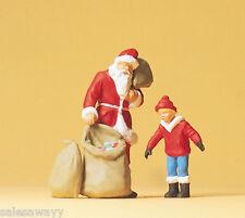 Preiser 65335 Santa Claus Child O Gauge