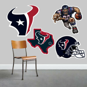 Houston Texans Wall Art 4 Piece Set Large Size------New in Box------