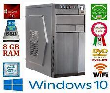 COMPUTER DESKTOP ITEK-RB INTEL i 5 QUAD CORE SSD 240 GB_8 GB RAM_WIFI_WINDOWS 10